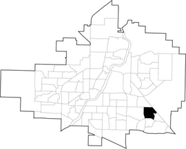 Briarwood location map