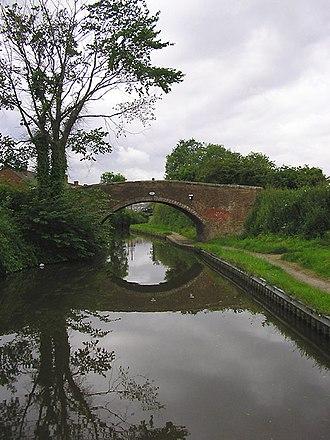 Handsacre - Image: Bridge No 59, Trent and Mersey Canal near Handsacre, Staffordshire geograph.org.uk 1001540