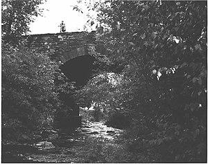 Bridge in Dreher Township - Bridge in Dreher Township, 1982