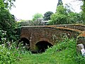 Bridge over Gilwiskaw Brook at end of Hall Lane - geograph.org.uk - 1326208.jpg
