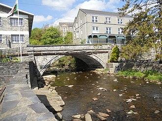 Trefriw - Image: Bridge over the Afon Crafnant at Trefriw geograph.org.uk 2398105
