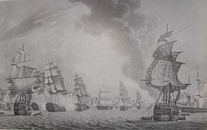 Battle of Groix - Image: Bridports Action Groix