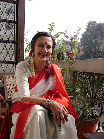 English: Indian politician Brinda Karat in Jan...