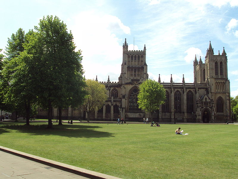 Bristol Cathedral & College Green, Bristol