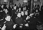 British and Soviet naval officers enjoying a concert aboard HMS Duke of York (6105881992).jpg