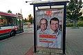 Brno, náměstí Svornosti, citylight ČSSD do krajských voleb 2020 (19.27.49).jpg