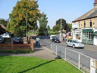 Crockenhill Human settlement in England