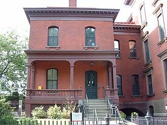 Corliss–Brackett House - Image: Brown University Corliss Brackett House