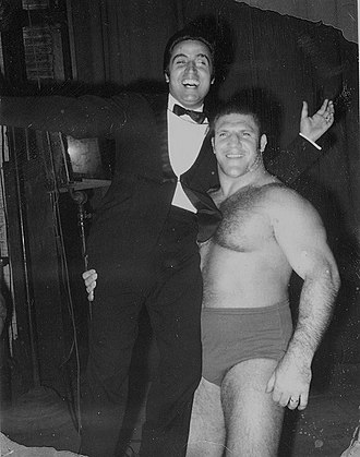 Bruno Sammartino - Bruno Sammartino and Mario Trevi