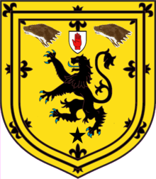 Buchanan (of Dunburgh) Escutcheon.png