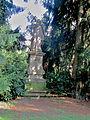 Buchlovice, zámecký park, Jan Nepomucký.jpg