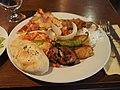 Buffet lunch at restaurant Halikarnas.jpg