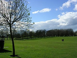 Buile Hill Park park in Seedley, Salford, Greater Manchester, UK