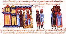 Александър съобщава на вестоносци от България, че не иска да подписва договор със Симеон