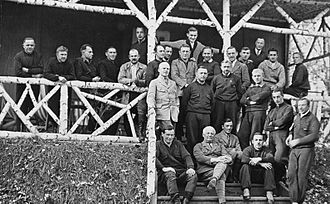 Nazi–Soviet economic relations (1934–41) - German staff at Tomka chemical weapons facility, Soviet Union, 1928
