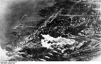 Bombing of Stalingrad - The ruins of Stalingrad on 2 October 1942.