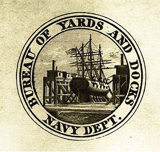Bureau of Yards and Docks - Bureau of Yards and Docks logo