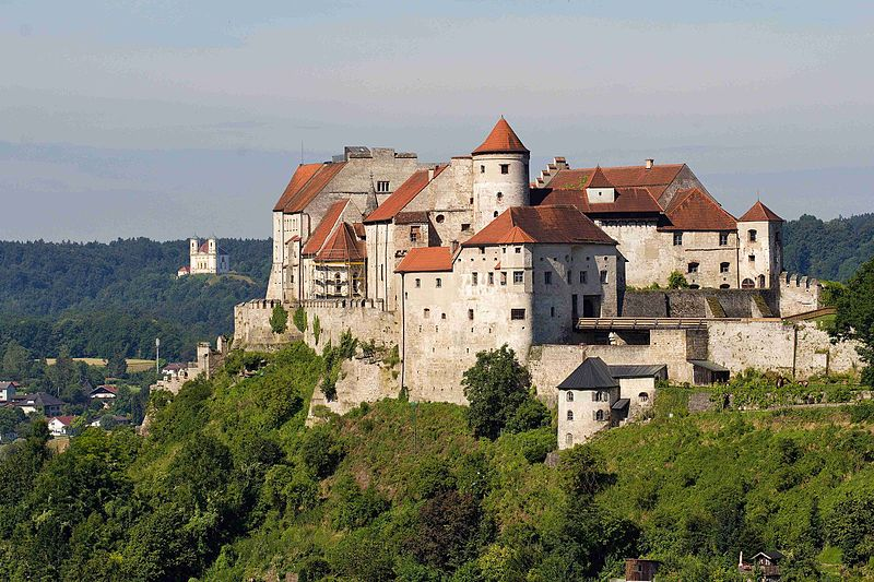 Burghausen Castle  in Germany