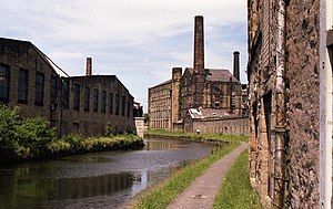 Burnley - canalside buildings and chimneys - geograph.org.uk - 624042.jpg