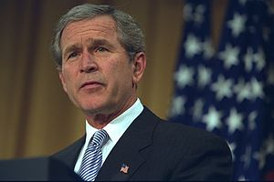 Irving Kristol Award - George W. Bush speaks at AEI's Annual Dinner in 2003.