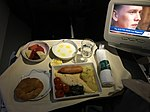 Business Class Breakfast on SriLankan Airlines UL708.jpg