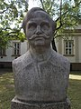 Bust of Imre Révész by József Ács, Katona József Park, 2016 Hungary.jpg