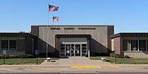 Butler County, Nebraska courthouse from E 2.JPG