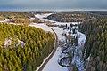 Byabäcken river valley in Sipoo, Finland, 2021 March.jpg