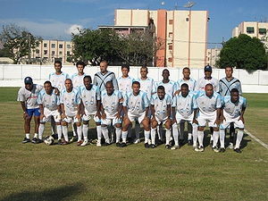 Ceres Futebol Clube - Team photo from the 2010 season