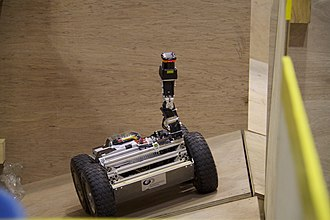 RoboCup - Team CASualty competing in the Rescue Robot League at Singapore, 2010