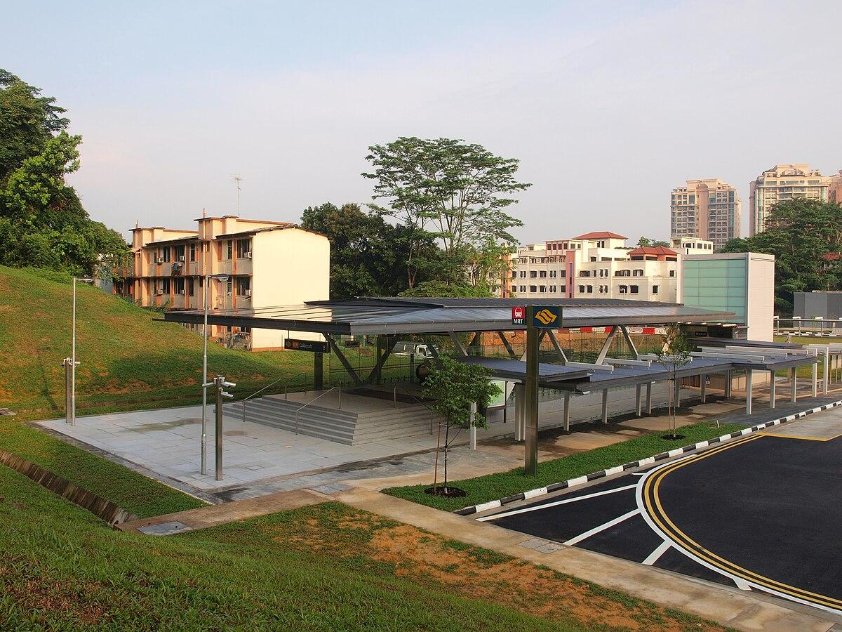 Caldecott MRT Station  Wikipedia