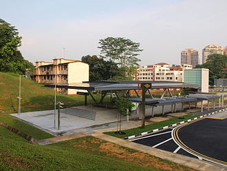 Andrew Caldecott - Caldecott MRT Station in Singapore, named after Andrew Caldecott