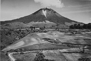 Mount Sinabung - Mount Sinabung in 1940s