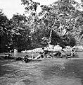 COLLECTIE TROPENMUSEUM Jongens bezig met het wassen van de karbouwen in de rivier TMnr 10013346.jpg