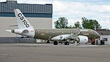 Primo prototipo di Bombardier CS100 (FTV1)