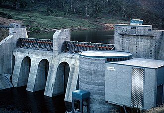 Meadowbank Power Station - Image: CSIRO Science Image 2816 Meadowbank Power Station