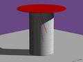 Cadran à chapeau à tronc cylindrique.png