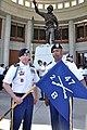 Cadre unit flag (17265819576).jpg