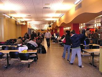 Polytechnique Montréal - Cafeteria at École Polytechnique de Montréal