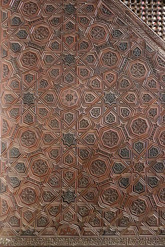 Girih - 13th century minbar, Ibn Tulun Mosque, Cairo