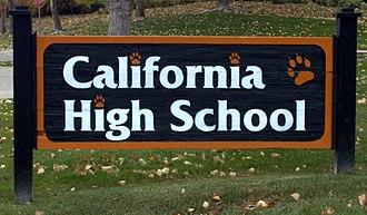 California High School (San Ramon, California) - Image: Cal High School 01
