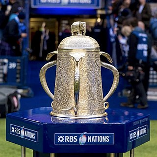 Calcutta Cup Rugby competition between England and Scotland