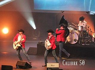Calibre 50 Mexican band