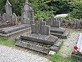 Cambrai - Cimetière de la Porte Notre-Dame, sépulture remarquable n° 35, Cyriaque Cagnoncle et Sophie Langrand, tombes anciennes (01).JPG
