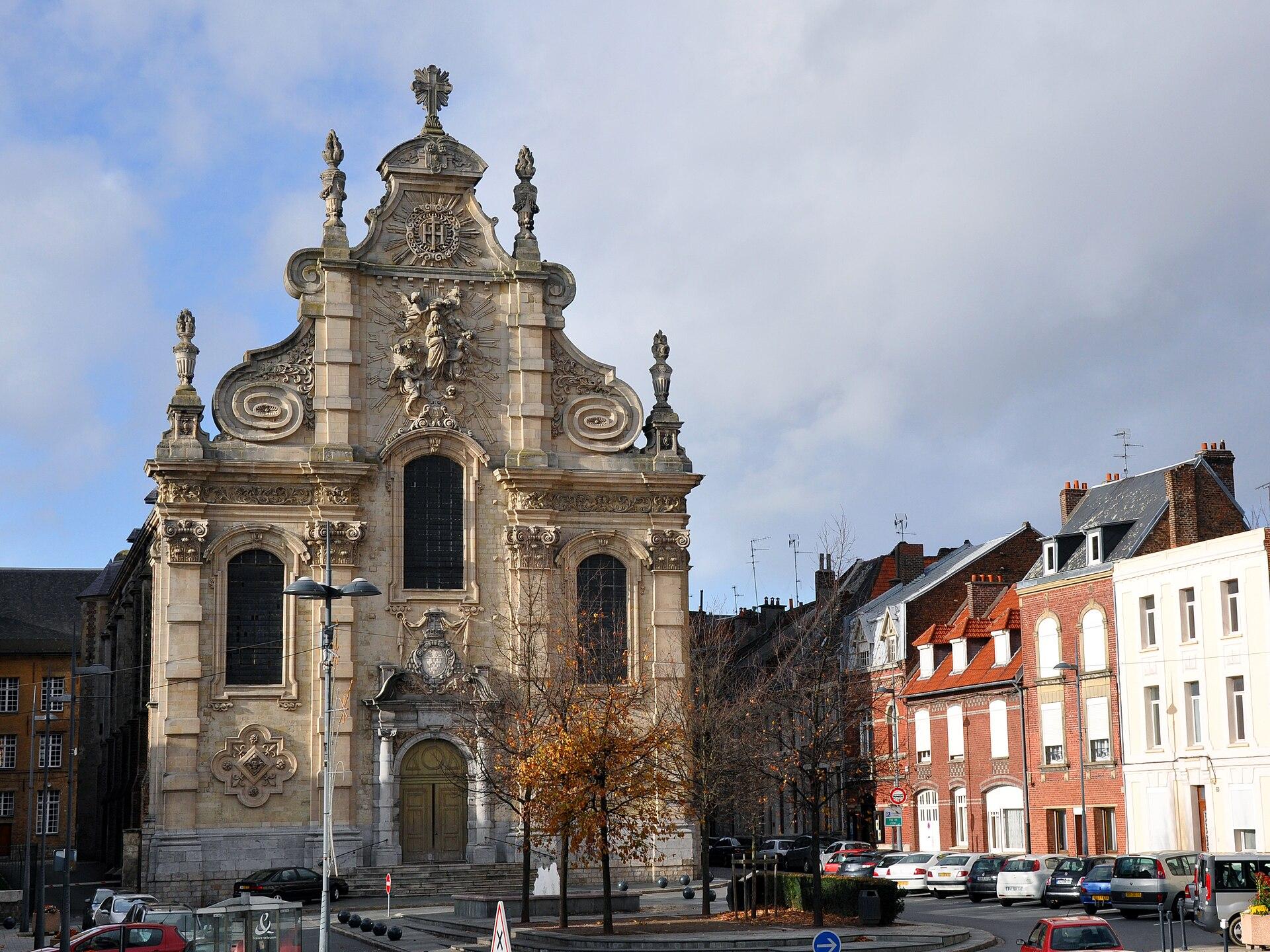 Chapelle des j suites de cambrai wikip dia for Architecte cambrai