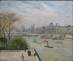 The Louvre, Spring, Morning, Sunlight (First Series)