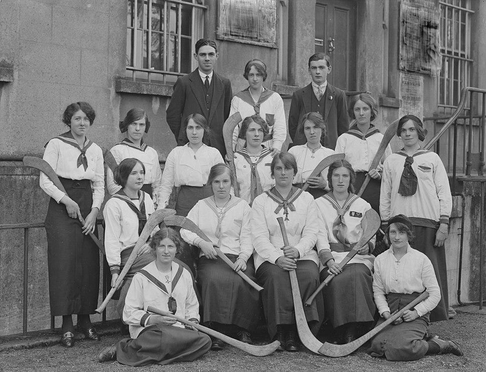 Camogie Team, Waterford, 17 October 1915