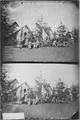 Camp scene, group of Officers and ladies - NARA - 527543.tif