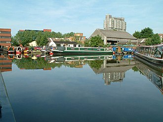 Aylesbury Canal Society - Image: Canal basin at Aylesbury geograph.org.uk 7958