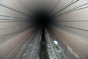 BMT Canarsie Line - Damaged tunnels after draining